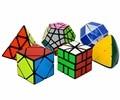 Shengshou Cubos (Regalos Lleno de) Un Incluyendo (3x3 Pyraminx, 3x3Megaminx, Serpiente, SQ-1, Masterphorminx, Skewb) Cubo Mágico 6 unids Y Paquete B