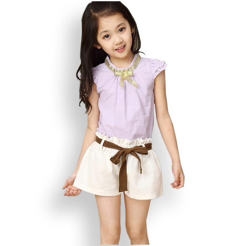 Get Yours Today At Ninas South Abington: 2015 Summer Kids Big Girl Cute Clothing Sets Girl's Short