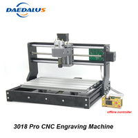 CNC 3018 Pro Engraving Machine 3 Axis GRBL Control DIY Mini PCB Milling Laser Engraver Wood Router With Offline Controller