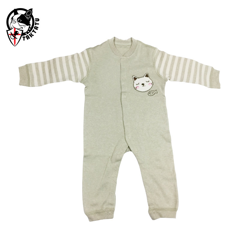 Newborn bodysuit 100% cotton spring and autumn baby clothes monk clothing bodysuit 3 - 6 months old  ropa bebe unisex 6 meses old monk в москве