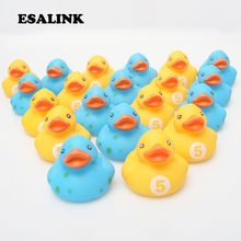 20pcs wholesale rubber classic toys small yellow duck and blue duck baby bathroom shower water toy gift duck for kids куртка утепленная duck and cover duck and cover du002emgmf68