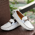 2016 Fashion New Arrival Flats Men Casual Genuine Leather Shoes  Men Shoes For Men Brand Shoes Leather Plus Size 39-50