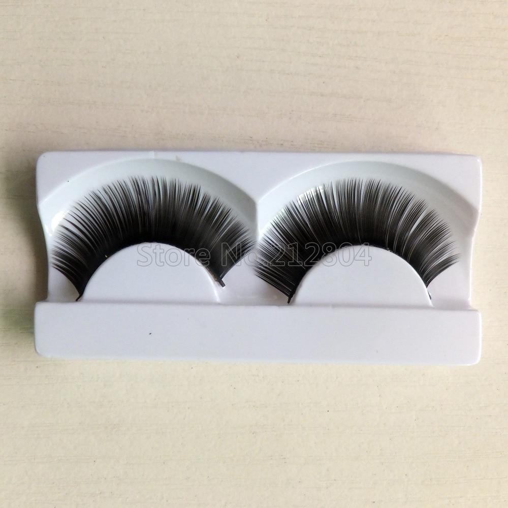 1 Pairs Makeup Handmade Natural Thick False Eyelashes Long Eye Lashes Extension