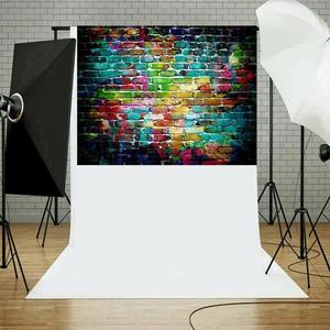 Image 2 - 5 tailles brique Texture Photo fond tissu plaque Photo toile de fond Studio photographie accessoires écran décor à la maison Studio accessoires