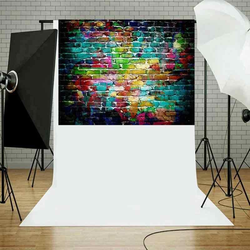 5 tailles brique Texture Photo fond tissu plaque Photo toile de fond Studio photographie accessoires écran décor à la maison Studio accessoires