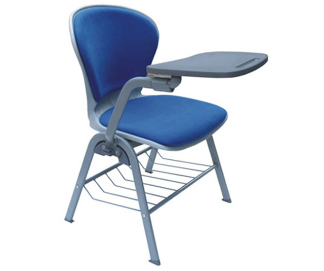 Lightweight School Chair With Folding Tablet Soft Seat Chair Classroom  Student Chair