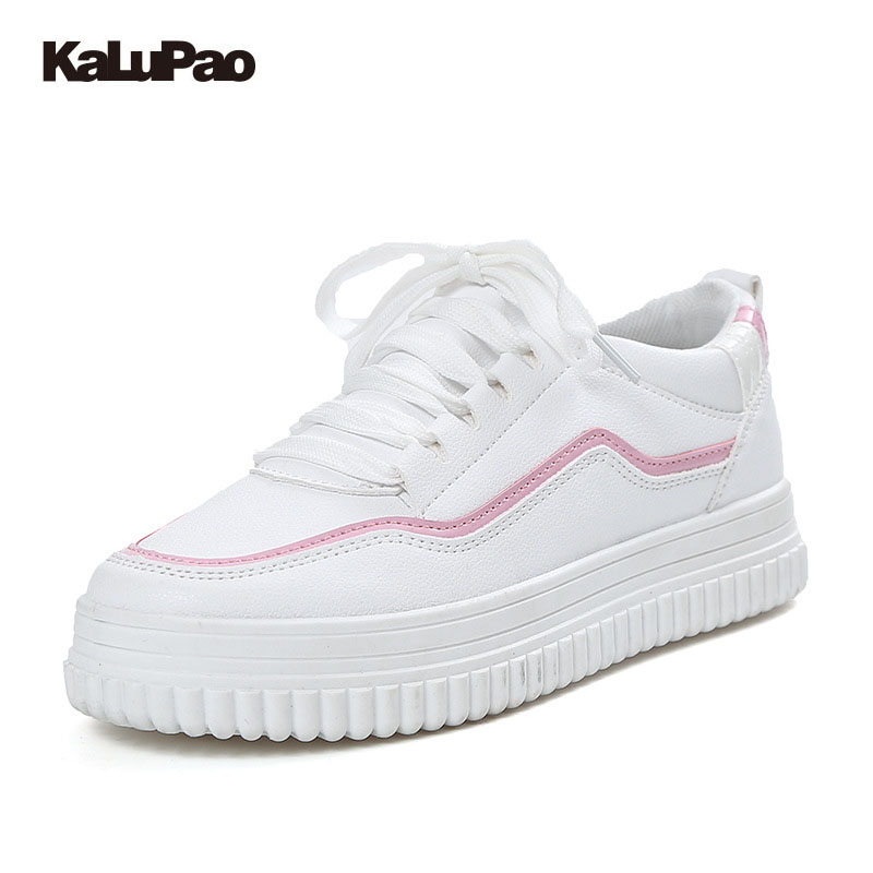 Kalupao Children Casual Shoes Boys Shoes Girls Brand Kids PU Boys Sneakers Sport Shoes Fashion Casual Children Boy Sneakers kids shoes girls boys pu leather lace up high children sneakers girl baby shoes sport autumn winter children shoes