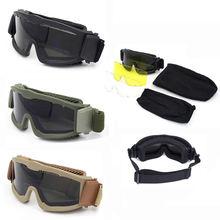 Армейские военные страйкбольные солнцезащитные очки для мужчин