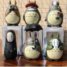 10cm My Neighbor Totoro Action Figures Studio Ghibli Miyazaki Hayao Model Toys Car Decoration