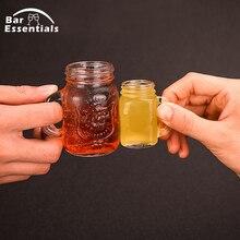 Мини хрустальная головка водки череп Кружка Рюмка виски напиток посуда для дома Бар ночной клуб поставки