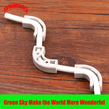 цена на Water Purifier Device Reverse Osmosis System Hose Flow Bend Clip 90 Degree 1/4