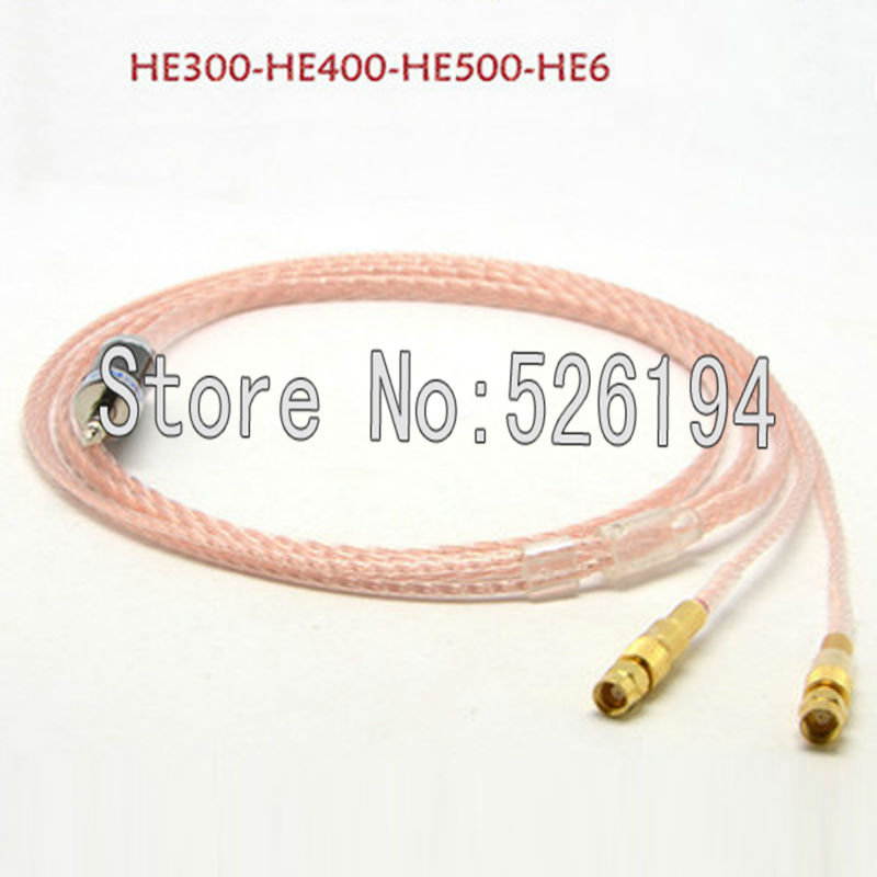 Free shipping 2m Litz braid 6 Cores 5n Pcocc copper Headphone Upgrade Cable for Hifiman He-5 He-6 He-400 He-500 He560 цена и фото