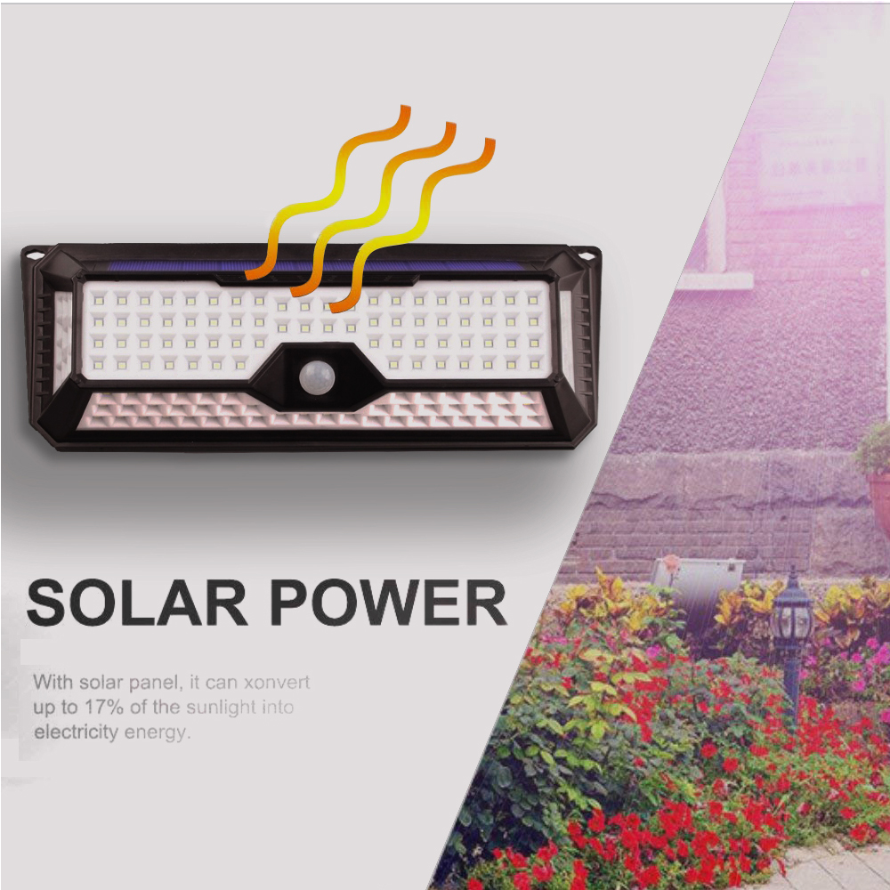 led solar light outdoor pir