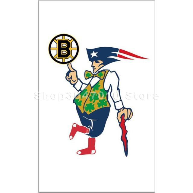 3x5ft NOUVELLE ANGLETERRE HOMME BRUINS de BOSTON CELTICS PATRIOTES ...