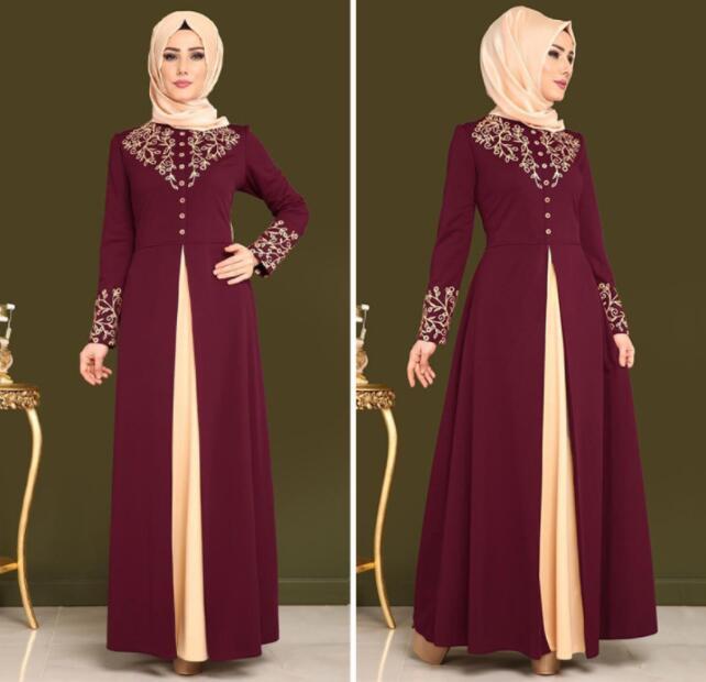 Robe caftan dubaï fête musulmane Abaya femmes arabe dentelle Cardigain Patchwork turquie Islam prière caftan marocain robes