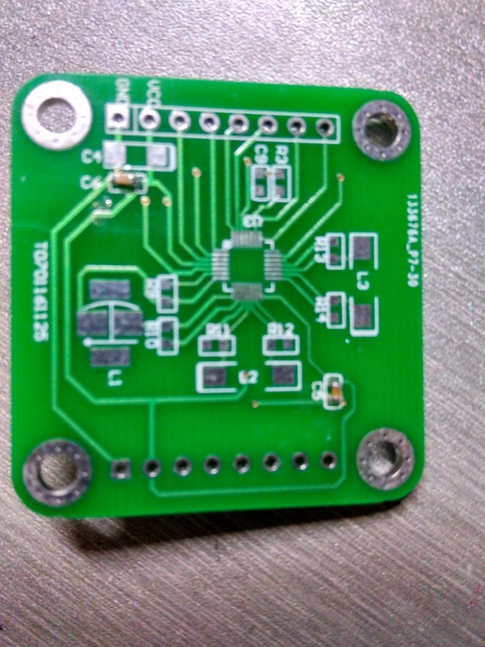 Купить с кэшбэком PNI RM3000 geomagnetic sensor module, geomagnetic detection PCB, development board 129271310413101
