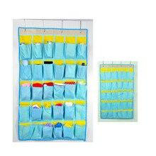 30 карманов висит на стенах сумка для хранения организовать стена хранения сумки для брюки, носки, comsmetics и т. д.