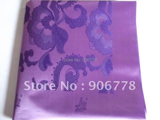 Grand swiss headtie with Lilac color ,wholesale price high quality headtie 2yard/pc