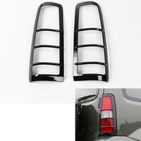 Sosung Fit For 2007 2015 Suzuki Jimny Rear Tail Light Lamp Guards Cover Trim Styling Car