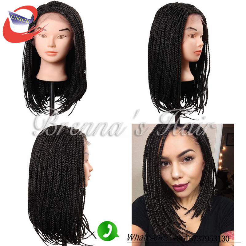 Terrific Popular Short Front Lace Braids Wigs For Black Women Buy Cheap Hairstyles For Men Maxibearus
