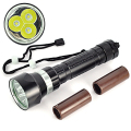 6000 Lumen 30W 3x XML L2 LED Diving Flashlight Torch 150M Waterproof LED Flash Ligh (18650/26650) Lanterna LED For Fishing