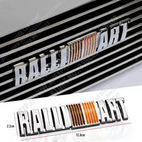 3D Metal RALLIART Emblem Car Decal Car Styling For Mitsubishi Asx Lancer Outlander Pajero L200 Galant