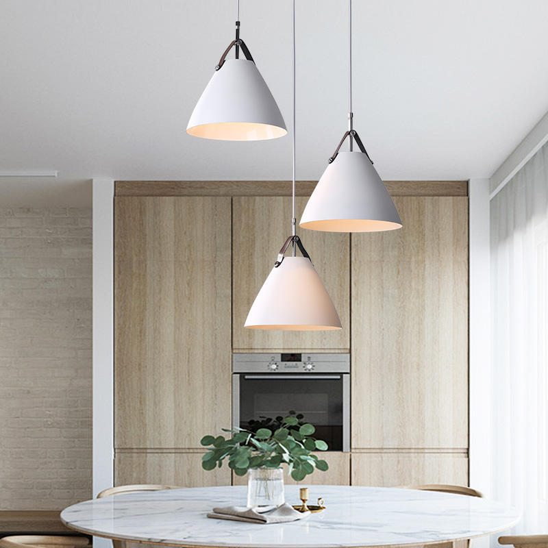 Modern Belt Droplight Creative Aluminum Pendant Lights E27 Hanging Lamps 110V/220v For Decor Luminaire