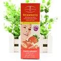 100g Strawberry Whitening Skin Facial Exfoliating Cream Peeling Gel Face Care Body Creams Death Skin Facial Scrub Horny Remove