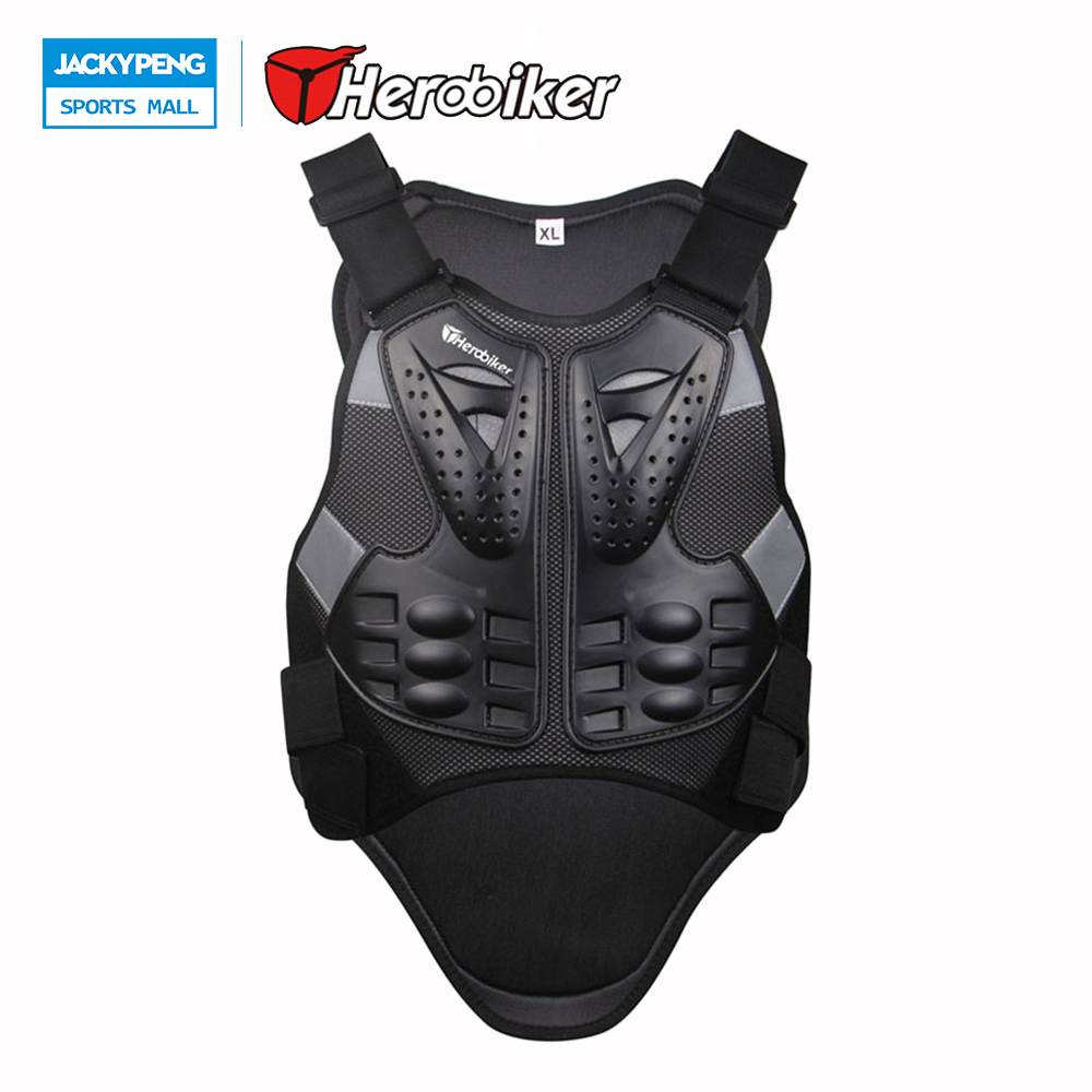 Strong-Willed Herobiker Motorcycle Jacket Men Chest Back Body Full Protector Body Support Vest Motocross Protective Gears Jacket To Be Highly Praised And Appreciated By The Consuming Public Sports Safety