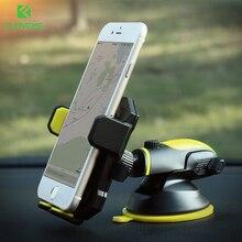 ФОТО FLOVEME Universal Car Phone Holder  iPhone 7 X Stand  Samsung Galaxy S8 S7 Telescopic Automatic Mobile Phone Hoder Sucker