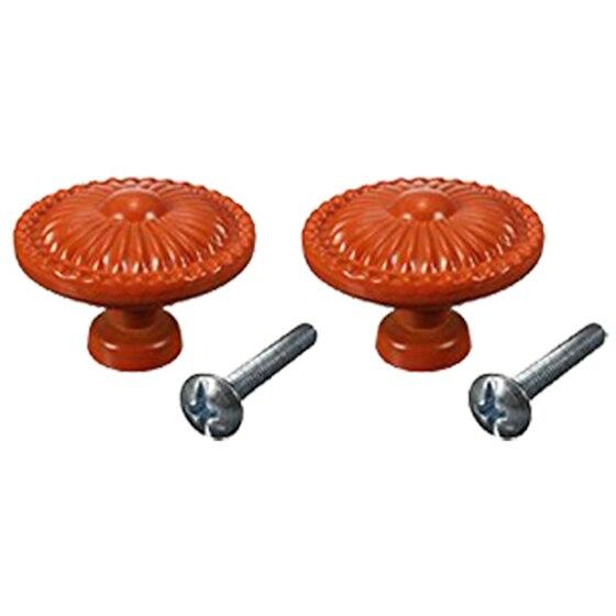 Orange 10PCS Retro Simple Style Round Door Knob Zinc Alloy Shower Bath Door Handle Pull Knobs for Drawer,Cabinet,Chest, retro style zinc alloy owl earrings for women golden