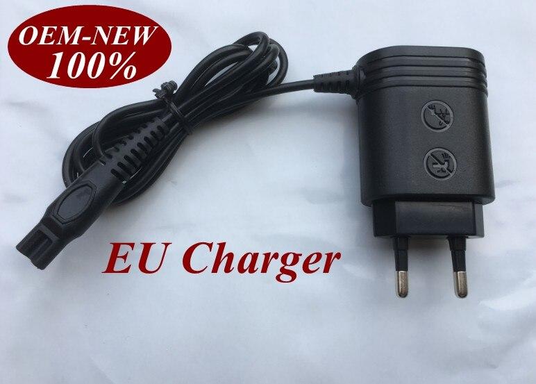 220-240 В ЕС Зарядное устройство Разъем для <font><b>PHILIPS</b></font> Norelco HQ8 HQ9 PT730 PT735 PT860 PT870 AT750 AT751 AT890 AT891 HQ7120 HQ7100 HQ7140 HQ7160