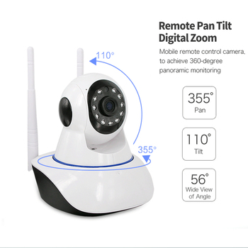 1080P 2MP Wireless IP Camera Two-Way Audio CCTV Security Wifi Camera Baby Monitor Video Surveillance Indoor Camera Night Vision 1080p 2mp wireless indoor wifi surveillance camera two way audio cctv security ip camera home dome baby monitor support sd card