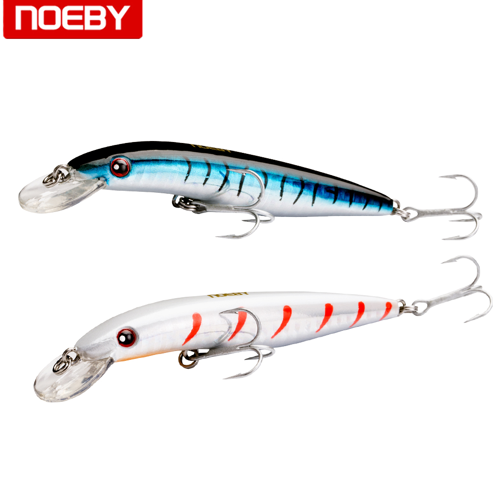 NOEBY Floating Minnow Bass Pike Carp Walleye Trout Plastic Fishing Wobbler Hard Baits Swimbaits Artificial Lure Sea wldslure 1pc 54g minnow sea fishing crankbait bass hard bait tuna lures wobbler trolling lure treble hook