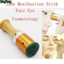 Hot Body Meridian Warm Moxibustion Rods.Thickening Jade Moxibustion Face Eye Massage.Rods Hairdressing Article Moxa Stick