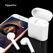 Oppselve i7s TWS Wireless Headphones Bluetooth Sport Earphones Waterproof Headphone Wireless Earphone Headset With Microphone i7s tws ture wireless bluetooth earphones headset earbuds earphone with microphone headphones earphone for iphone android