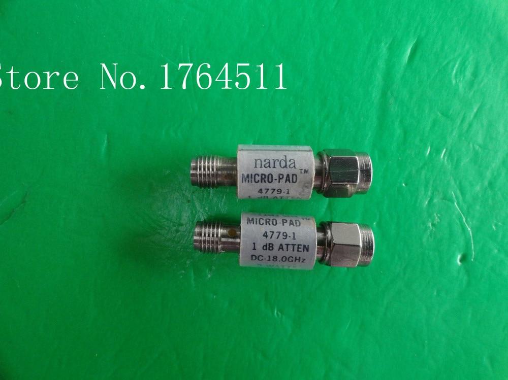 [BELLA] NARDA 4779-1 DC-18GHz Att:1dB P:2W SMA Coaxial Fixed Attenuator