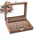 Necklace show box Jewelry receive storage Bracelet display box acrylic organizer jewelry case gift boxes for jewellery