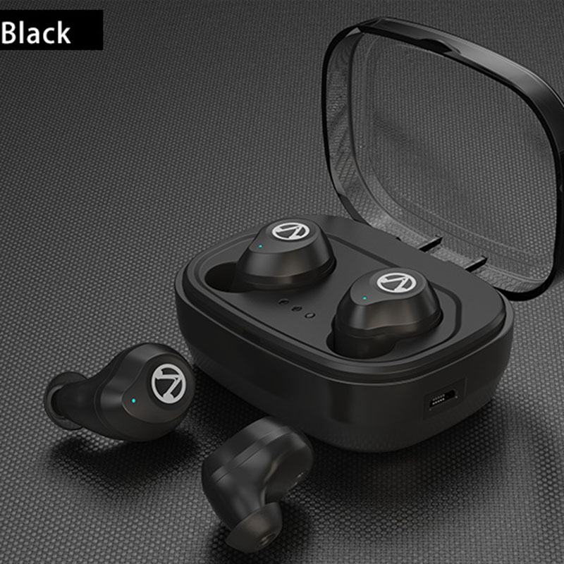 Bluetooth 5.0 TWS Mini Wireless Earphone IPX7 Waterproof Bluetooth Earphones Touch Control Hifi Wireless Earbuds Headset tws 5 0 bluetooth earphone touch control stereo music in ear type ipx6 waterproof wireless earbuds with charging box yz209