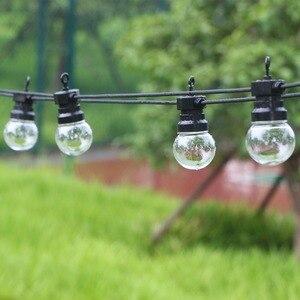 Image 1 - 13M 20 หลอดไฟLed Festoonกลางแจ้งStringแสงFairyกันน้ำLed Globeหลอดไฟงานแต่งงานตกแต่งStringโคมไฟสำหรับbackyard Patio