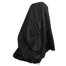 Waterproof Chair Dust Rain Cover For Outdoor Garden Patio Furniture Protection Black 35x35x35