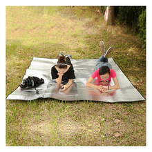 Waterproof Aluminum Foil EVA Camping Mat Foldable Folding Sleeping Picnic Beach Mattress Outdoor Mat Pad 200X200cm
