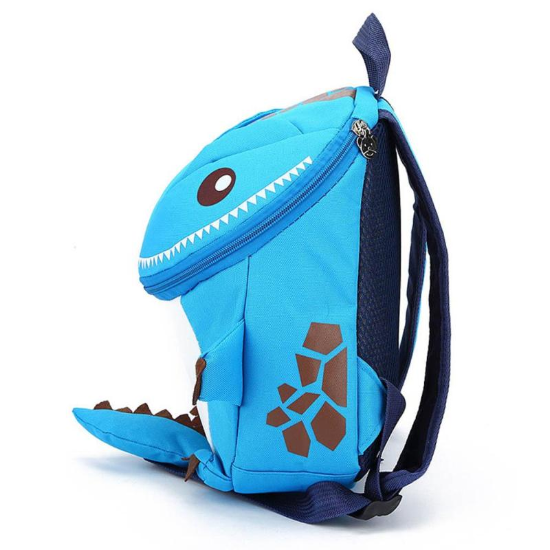 b3634c8c7449 3D Dinosaur School Bag Cute Nylon Animals Backpack for Kids Kawaii Zipper  Children Small Bags Casual Boys Backpacks 5 Colors 2-in School Bags from  Luggage ...