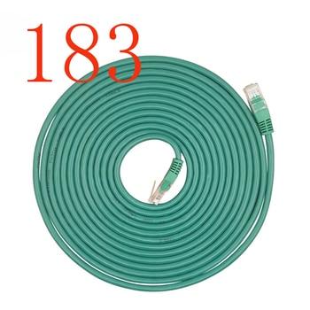グリーン高品質Cat5スーパー5種類のネットラインアンチスイング円形ライン二重色二重撚りイーサネットケーブル