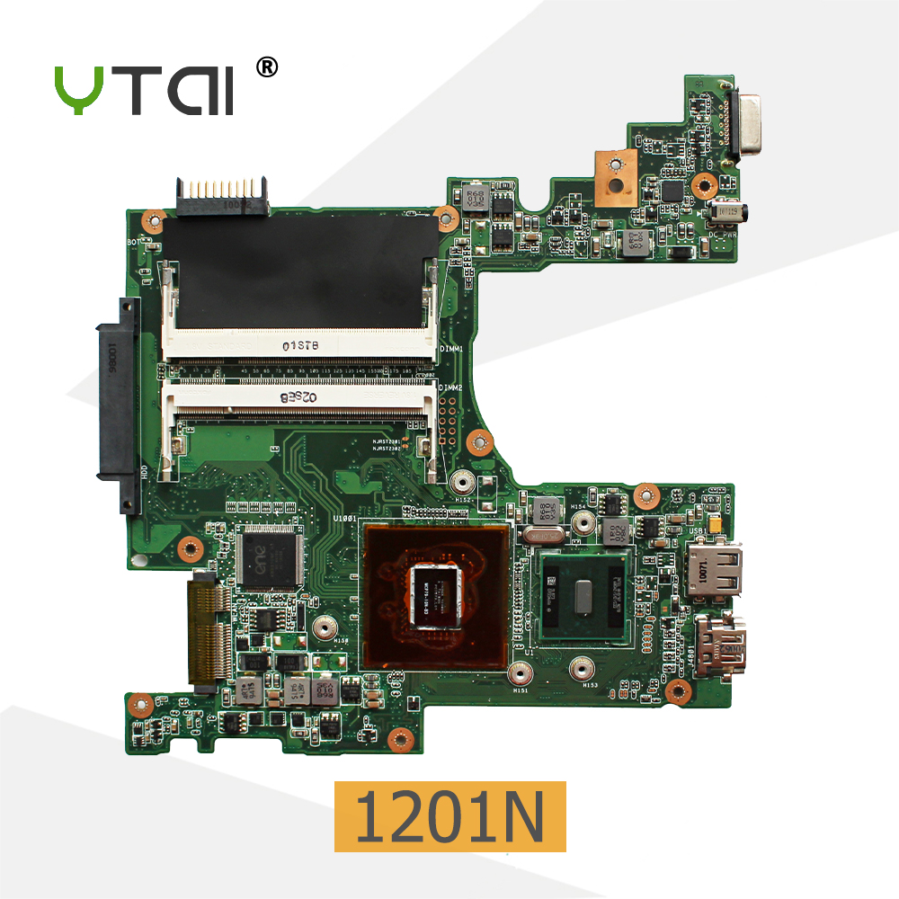цена YTAI 1201N P/N:08G2001NC22Q for Asus 1201N laptop Motherboard with N270 Processor P/N:08G2001NC22C Eee PC Mainboard fully tested