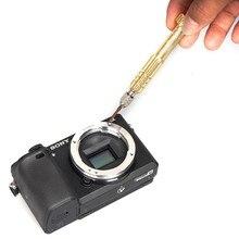 Commlite металла Медь Крепление объектива переходное кольцо e-Mount Замена для Sony NEX E камеры A7 A7R a7rii a5100 a6000 a6300 NEX-7