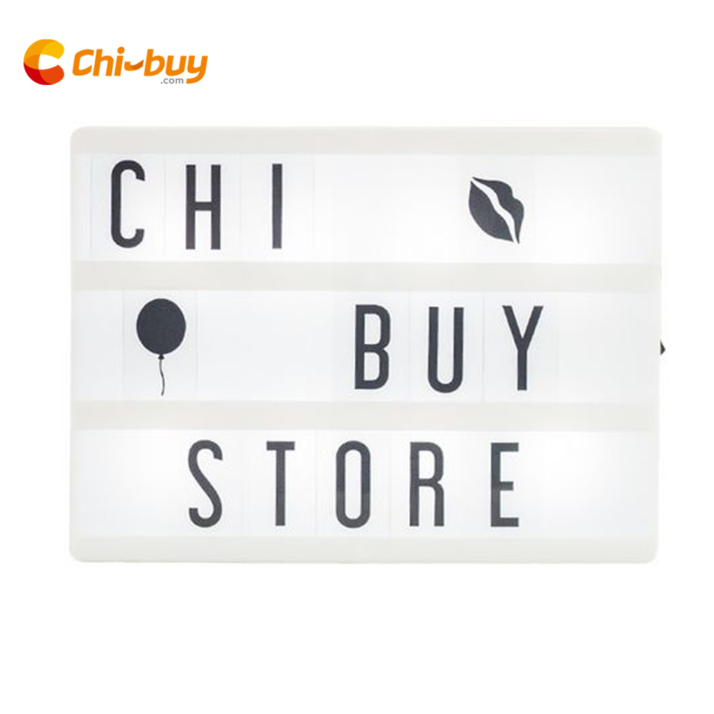 Chibuy A5 Cinema Light box LED A5 Light Box Cinematografico light box USB Cinema lightbox FAI DA TE Complementi Arredo Casa