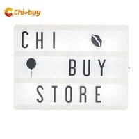 Chibuy a5 cinema caixa de luz led a5 caixa de luz cinematográfica caixa de luz usb cinema lightbox diy decoração da sua casa