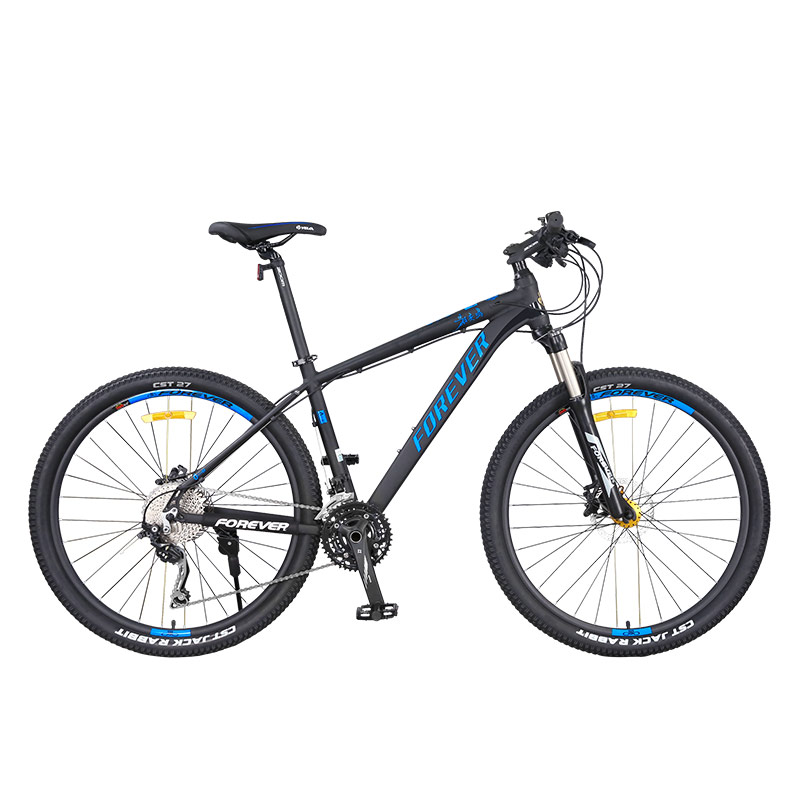 27.5 Inches Mountain Bike 30 Speed Aluminum Alloy Double Disc Brake Suitable For 165-195cm