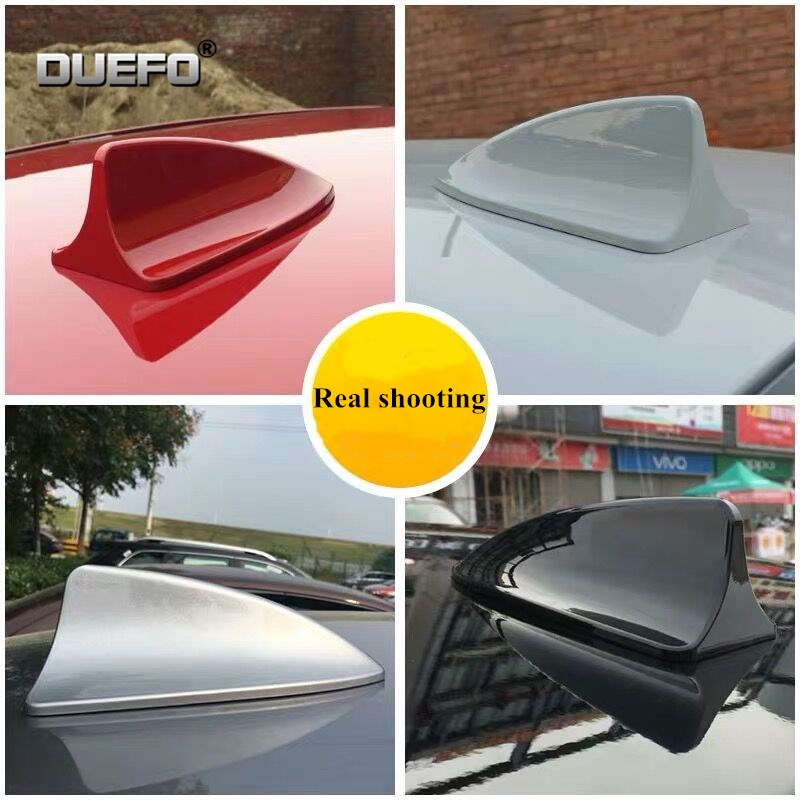 NEW 1pcs Car accessories Car Roof Shark Fin Radio Signal Aerial Styling for <font><b>infiniti</b></font> <font><b>fx35</b></font> q50 g35 g37 <font><b>qx70</b></font> qx50 fx <font><b>fx37</b></font> m35 q70 image
